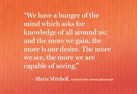 Maria Mitchell Quotes. QuotesGram via Relatably.com