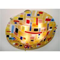 retro ceiling lamp from trio design glassware andei studio italia design