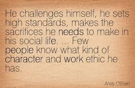 Work Quotes High Standards. QuotesGram Follow us.Follow