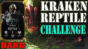 kraken reptile challenge hard crazy bronze tower and easy boss crazy bronze tower and easy boss battle
