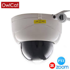 <b>OwlCat</b> Full HD 1080P <b>Indoor</b> IR <b>Dome IP</b> Camera PTZ 3X ZOOM ...