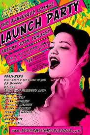 Join Me at the Burlesque Lounge Launch Party! - LaunchPartyPoster_web