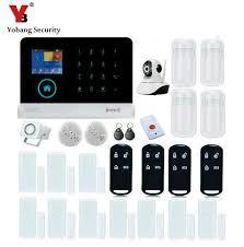 <b>Yobang Security Wireless WiFi</b> GSM Alarm System With PIR Motion ...
