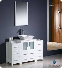 Brilliant Modern White Bathroom Vanities Additional Photos A And Decor