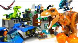 <b>Jurassic</b> World <b>Blocks Assembly</b> Video for Kids | Toy Dinosaur for ...