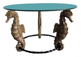 american art deco seahorse coffee or occasional table art deco style furniture occasional coffee