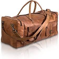 Leather Sports Bag - Amazon.co.uk