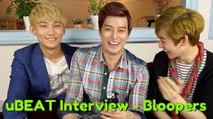 ubeat interview bloopers playlist eat your kimchi ubeat interview bloopers playlist