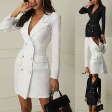 <b>Spring Suit Blazer Women</b> 2019 New Casual Double Breasted ...
