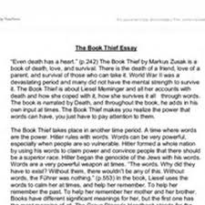 good essay titles for the book thief at  essays com eugood essay titles for the book thief pic