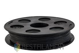 <b>ABS пластик</b> для 3D-принтеров <b>Bestfilament</b>. Цвет черный. 0.5 кг ...