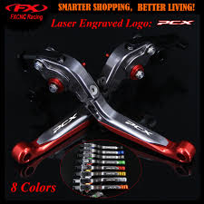 Logo Red <b>Motorcycle CNC Adjustable Brake</b> Clutch Levers For ...