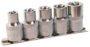 <b>Набор торцевых головок Rock</b> FORCE RF-4053 5 шт. — купить по ...
