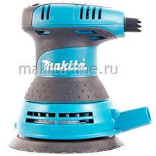 <b>Эксцентриковые шлифовальные машины</b> (орбитальные) Makita