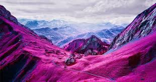 Infrared Photography Turns Swiss <b>Landscapes</b> into <b>Pink</b> Dream ...