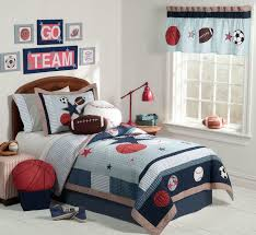 cute and colorful little boy bedroom ideas red white and blue sporting themed boys room blue themed boy kids bedroom