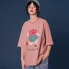 <b>2019 Summer New Design</b> Women Cotton T shirt O Neck RUNNING ...