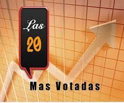 Las 20 Mas Votadas - El Ranking de la radio!