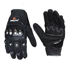 <b>Riding Tribe</b> Motorcycle Gloves Men Women Stainless Steel Shell ...