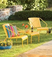 yellow outdoor patio furniture amazoncom amazoncom patio furniture
