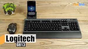 <b>Logitech G613</b> — обзор беспроводной механической <b>клавиатуры</b> ...