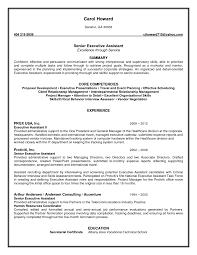 impressive senior executive administrative assistant resume fullsize by barry glen impressive senior executive administrative assistant resume example