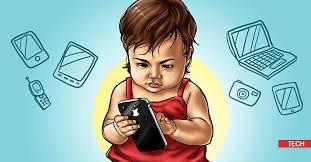 Image result for anak dan gadget