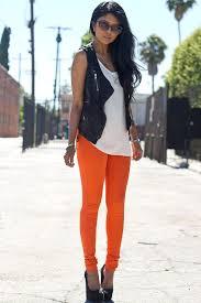 <b>Top</b>: Lush / Vest: Understar / Anarchy knit leggings: c/o Denimocracy ...