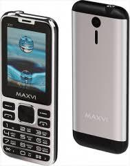 Мобильный <b>телефон Maxvi X11</b> Metallic Silver - купить кнопочный ...