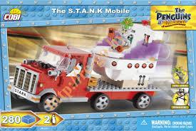 "Пластиковый <b>конструктор COBI</b> ""The S.T.A.N.K. Mobile"" с фигурками"