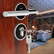 door hardware hb privacy lock designed door  space aluminum modern design wood door font b lock b font interi