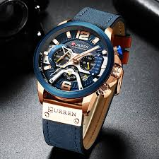 <b>Curren</b> Mens Watches Top Brand Luxury Chronograph Men Watch ...