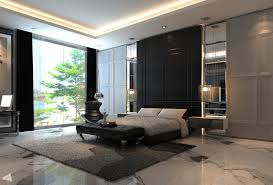 master bedroom feature wall:  bedroom feature wall black