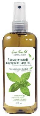 <b>Green Mama</b> Ароматический дезодорант для ног <b>Перечная мята</b> ...