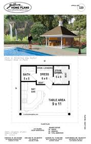images about Pavilions and Cabanas on Pinterest   Pool    Move restroom to far right  where it shows steam shower  add shower to restroom area  instead of restroom on the far left  have a grilling area