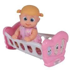 Кукла <b>Bouncin</b>' <b>Babies</b> «Бони», с кроваткой, 16 см (4593197 ...