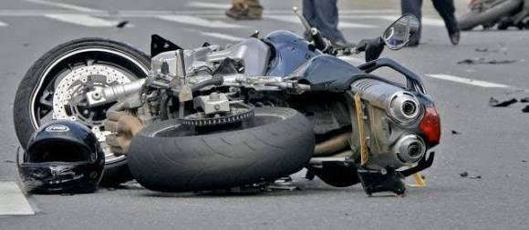 ¡¡Accidente de Moto!! Comandante de banda de guerra