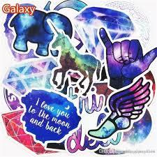 <b>Hot Sale 36Pcs</b> set Galaxy Stickers Mixed Toy Cartoon Skateboard ...