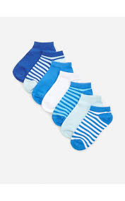 Buy online! Cotton rich <b>ankle socks</b> 7 pack, RESERVED, XI353-55X