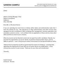 administrative assistant cover letter sample assistant resume cover letter