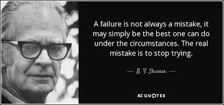 TOP 25 QUOTES BY B. F. SKINNER (of 95) | A-Z Quotes