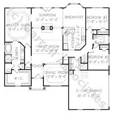 images about floor plans on Pinterest   Ranch Floor Plans     Chatham B House Plan  st Floor Plan  Craftsman Style House Plans  Ranch