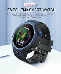 LEMFO Lem9 4G <b>1GB</b>+<b>16GB</b> GPS Heart Rate <b>Smart Watch</b> ...