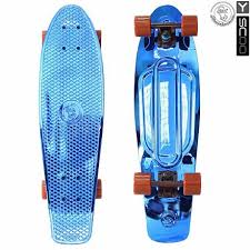 <b>Скейтборд</b> виниловый Y-Scoo <b>Big</b> Fishskateboard metallic 27 ...