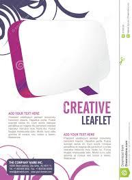 leaflet design royalty stock images image  leaflet design