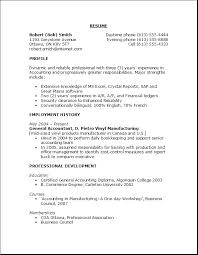 resume template  common resume objectives resume template word    common resume objectives   employment as general accountant