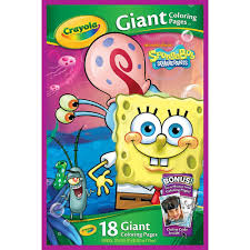 Small Picture Amazoncom Crayola Giant Coloring Pages Spongebob Squarepants