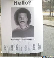 Lionel Richie Memes. Best Collection of Funny Lionel Richie Pictures via Relatably.com