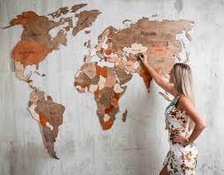 Купить <b>деревянную карту Мира</b> от Производителя! Доставка по ...