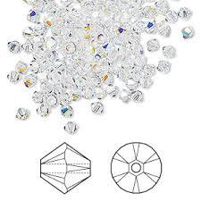 <b>Swarovski 3mm Bicone</b> Beads - Fire Mountain Gems and Beads